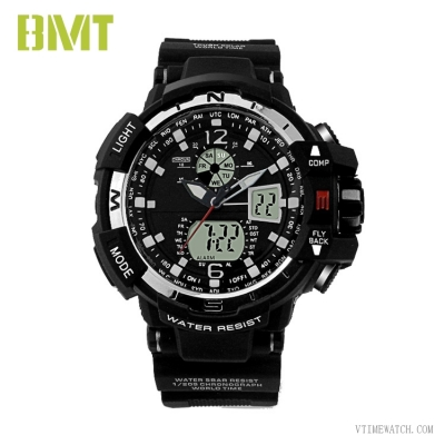 VT-AD1917 Mens Oversize Cool Analog Digital Sport Watch