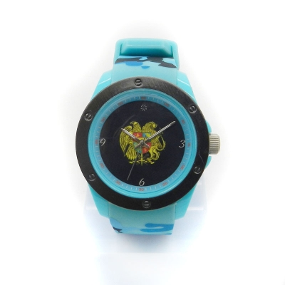 VT-SW1015 Camo Printed Silicone Analog Watch