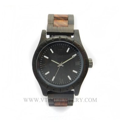 VT-WD1501M Men's Fashion Big Case Wood Watch